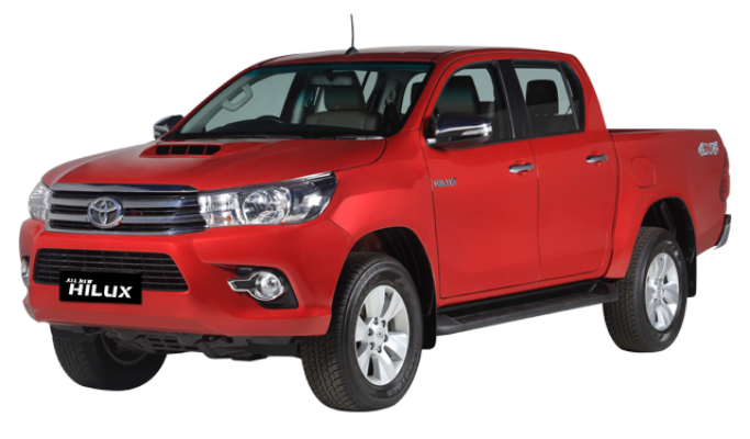 Toyota All New Hilux D Cab
